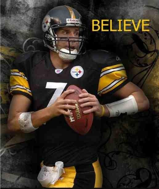 PITTSBURGH STEELERS~BEN #7
