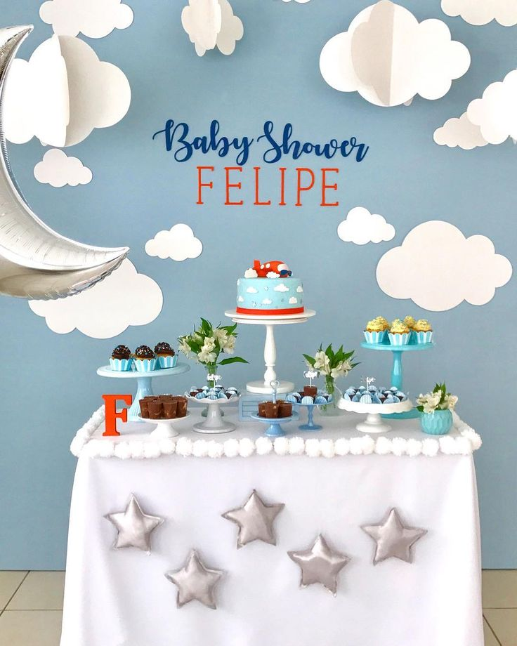 Baby Shower by @milfolhas_festas on Instagram