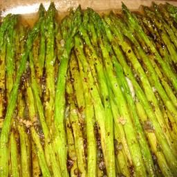 Garlic Roasted Asparagus on BigOven: Emeril Lagasse recipe from Food Network Site