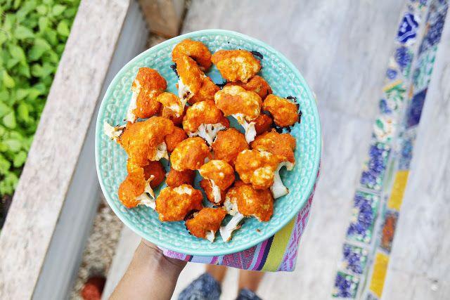 ohdeardrea: A Healthy Cauliflower Bites Recipe (Vegan, Gluten-free, No Oil)
