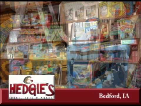Bedford Iowa's Hedgie's Books on Our Story's the Celebrities