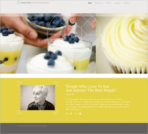 35 Best Free Online Portfolio Themes