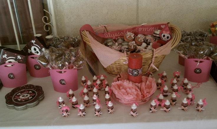 Skullicious™ - Baby Girl Skull - Baby Shower Theme Ideas