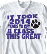 2014 senior t shirts | Senior Class T-Shirts - Cool Class of 2014 T Shirts - High School Tees