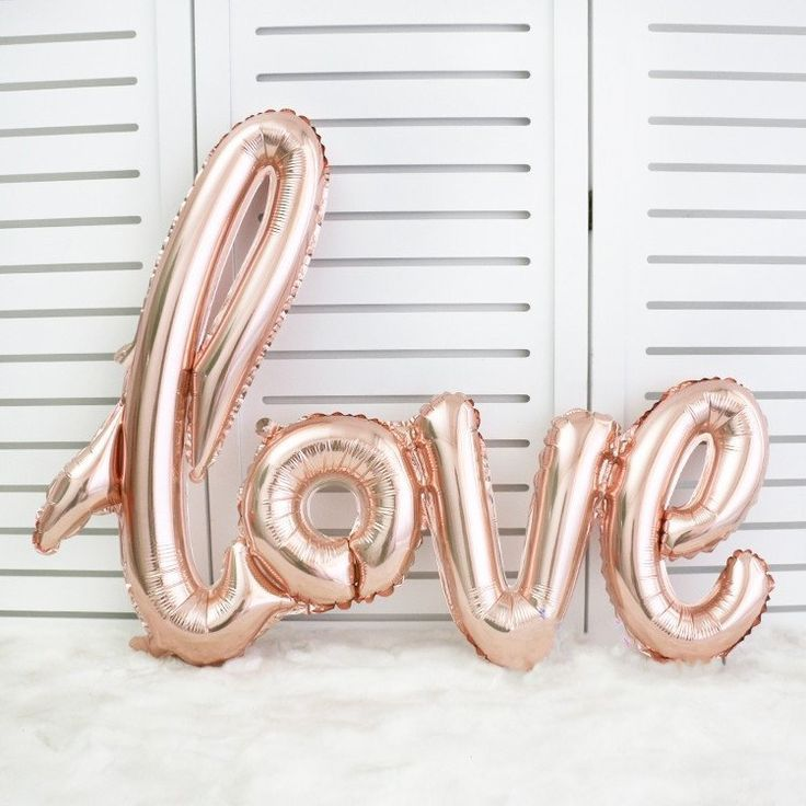 This set of rose gold foil balloons will be the perfect compliment to any bridal shower, bachelorette party, reception, after party, engagement parties, and more!   DIY Bachelorette Party Ideas | Budget Bride | Cheap Wedding Decor and Ideas | Girl's Night Out