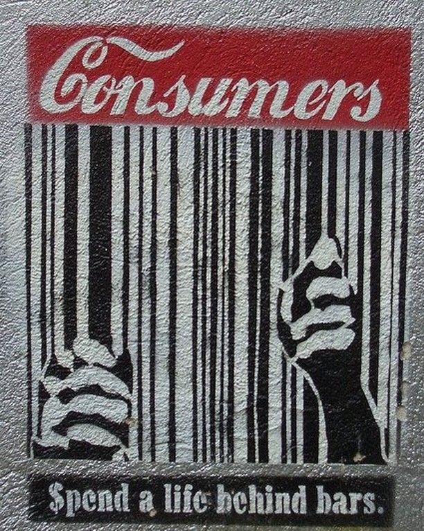 Consumers behind bars. #apps #russia #tech #japan #usa #china #SouthKorea #india #brazil #africa.