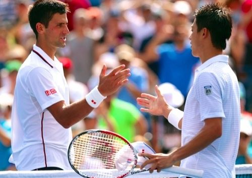 Watch Novak Djokovic vs Kei Nishikori ATP World Tour Finals 2015 first match live telecast and streaming online from 14:00 GMT. Get live score info.
