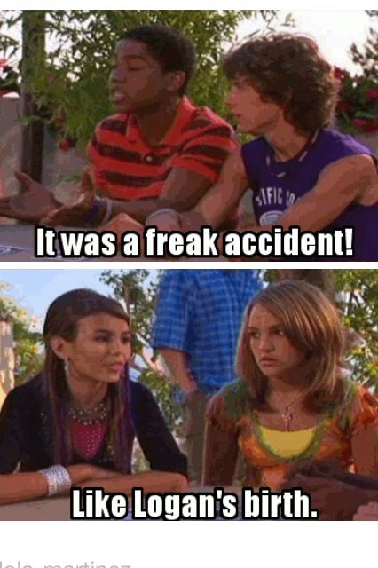 Zoey 101! one of the funniest things they ever said