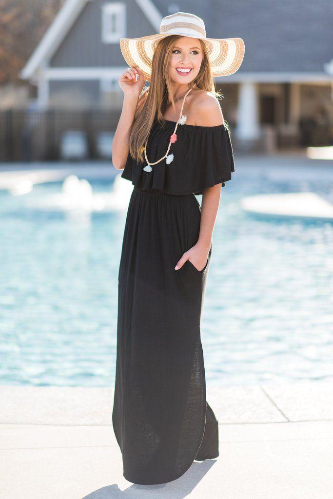 407d65a6a5b3 Beauty In Barbados Maxi Dress
