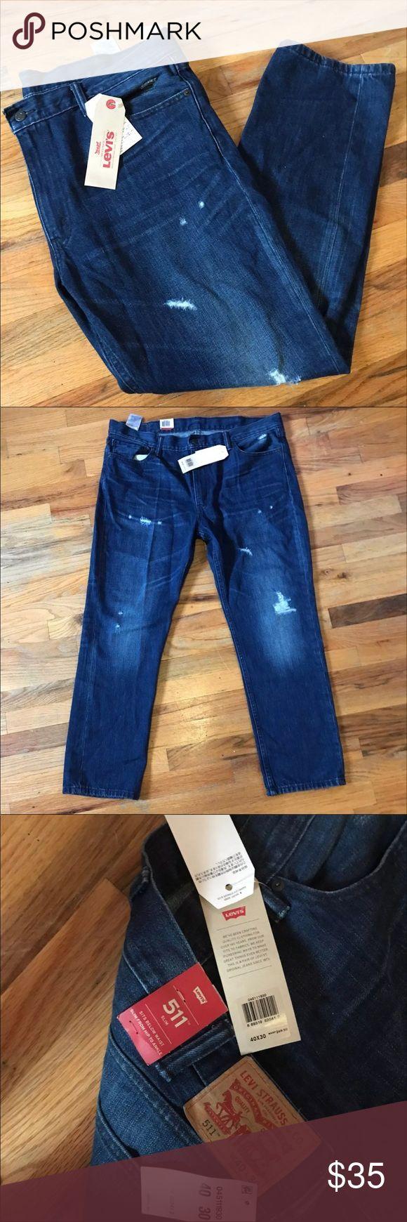 Levi's 511 Slim Jeana for Men Retail price $70. Sits below the waist. Slim fit. Brand new . 100% authentic Levi's Jeans Slim