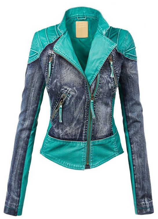 LL Womens Hooded Faux leather Jacket ✮✮✮✮  778 customer reviews. Color: WJC1016_TURQUOISE. 100% POLYURETHANE (shell) 100% POLYESTER(lining) Exposed zipper details Fully lined Medium weight HAND WASH COLD / HANG TO DRY / DO NOT IRON / DO NOT DRY CLEAN. https://twitter.com/TheMarketer2015/status/644553807125417985