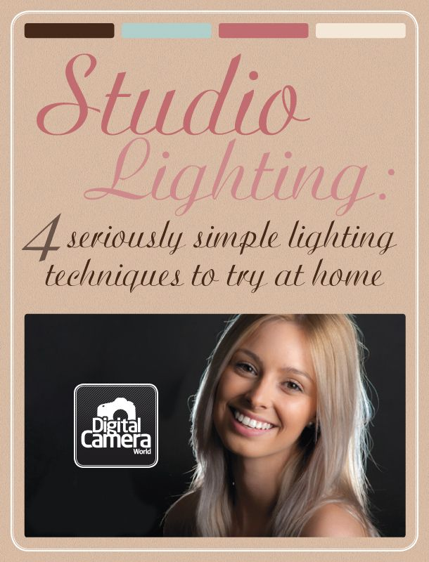 Studio lighting: 4 seriously simple lighting techniques to try at home