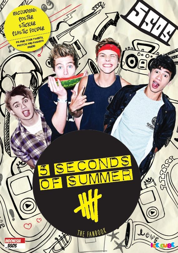 5 Seconds of Summer: The Fanbook by Indonesia_5SOS. Published on 23 February 2015.