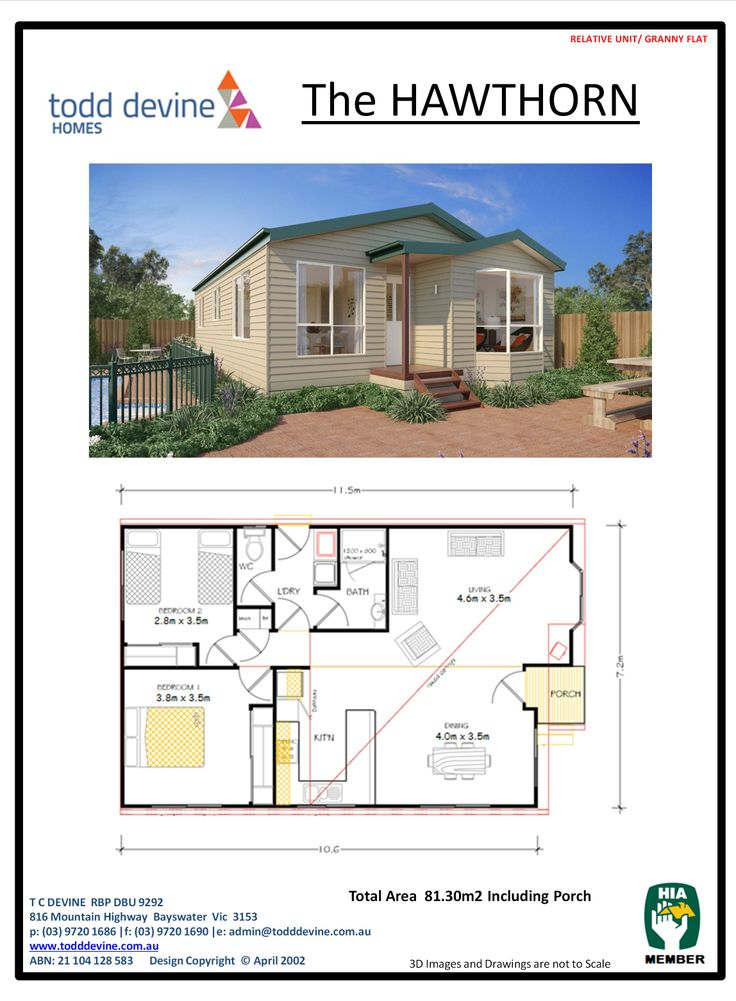 20 best granny flat designs images on pinterest flat design todd devine homes granny flatdpu the hawthorn malvernweather Image collections