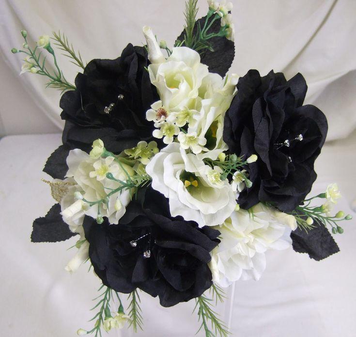 Black Wedding Flowers: 82 Best Black And White Wedding Ideas Images On Pinterest