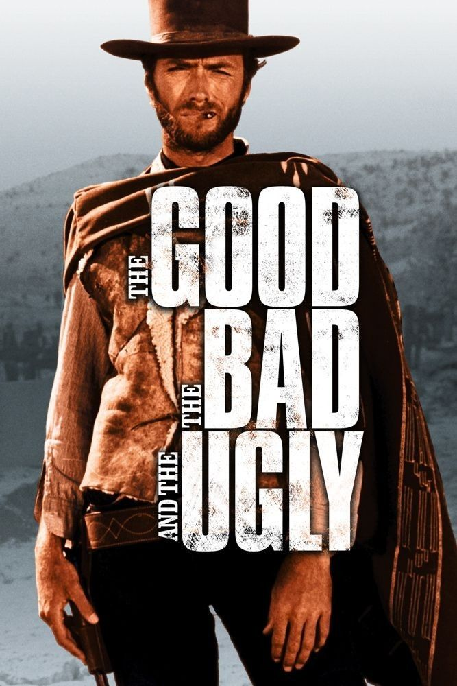 The Good, The Bad and the Ugly (1966) - A bounty hunting scam joins two men in an uneasy alliance against a third in a race to find a fortune in gold buried in a remote cemetery.