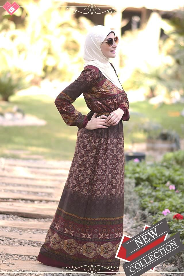 hijab fashion maxi dress