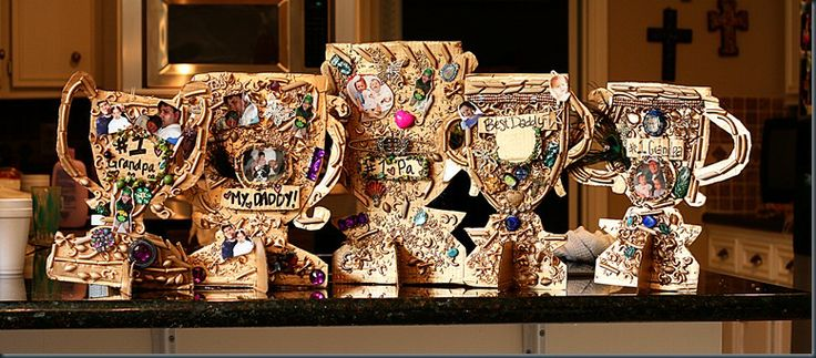 Fathers Day trophies: Church Ideas, Art Crafts, Father'S Day Gifts, Awesome Father, Care Projects, Father Teaching, Father Day Gifts, Fathers Day, Diy Projects