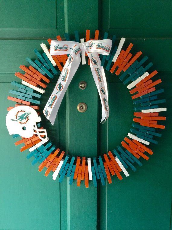 Miami Dolphins wreath!