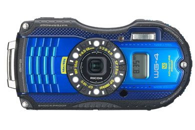 Ricoh underwater Camera with GPS.
