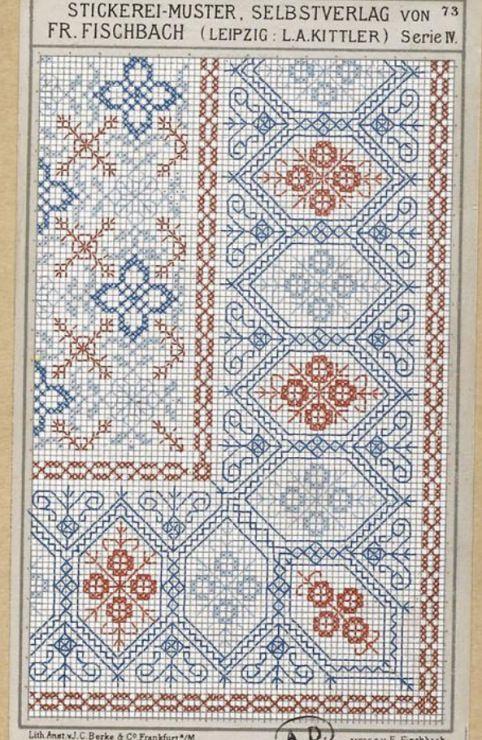 Gallery.ru / Фото #118 - старинные ковры и схемы для вышивки - SvetlanN