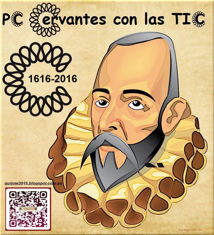 """P. C. El Quijote y Cervantes con las TIC: Comenzamos el Proyecto Colaborativo """"Cervantes con las TIC"""""""