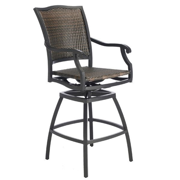 Simply the Best in Woven All Weather Outdoor Bar Stools