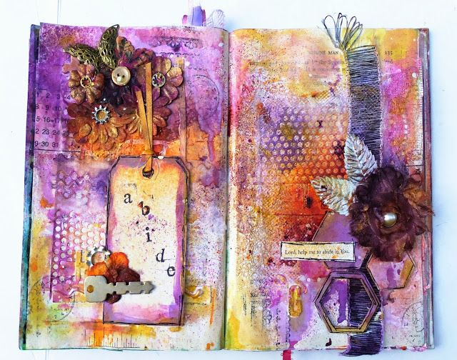 Artsy Lynn art journal