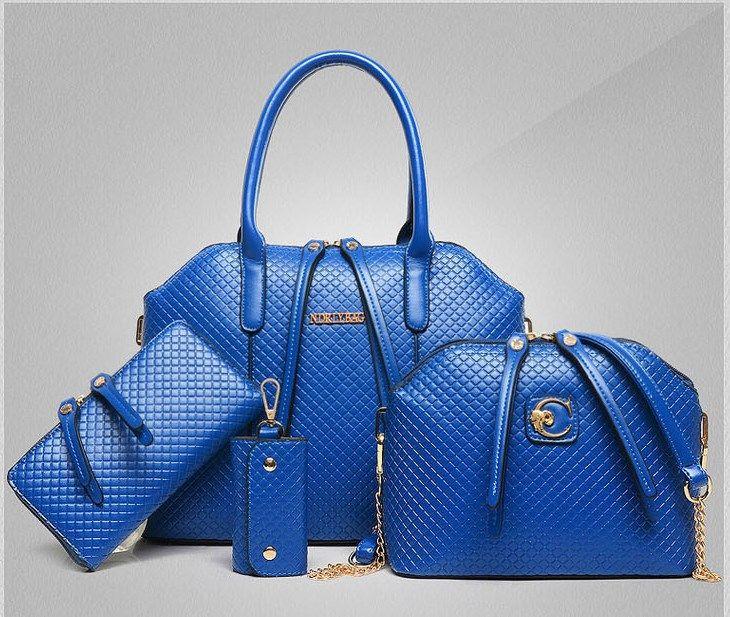 Crocodile Genuine Leather Bag Women Handbag Crossbody+Messenger+purse Bag 4 Sets—$65.00(Save 18%!) Item Type: Handbags is_customized: Yes Exterior: Silt Pocket Size: Medium(30-50cm) Number of Han…