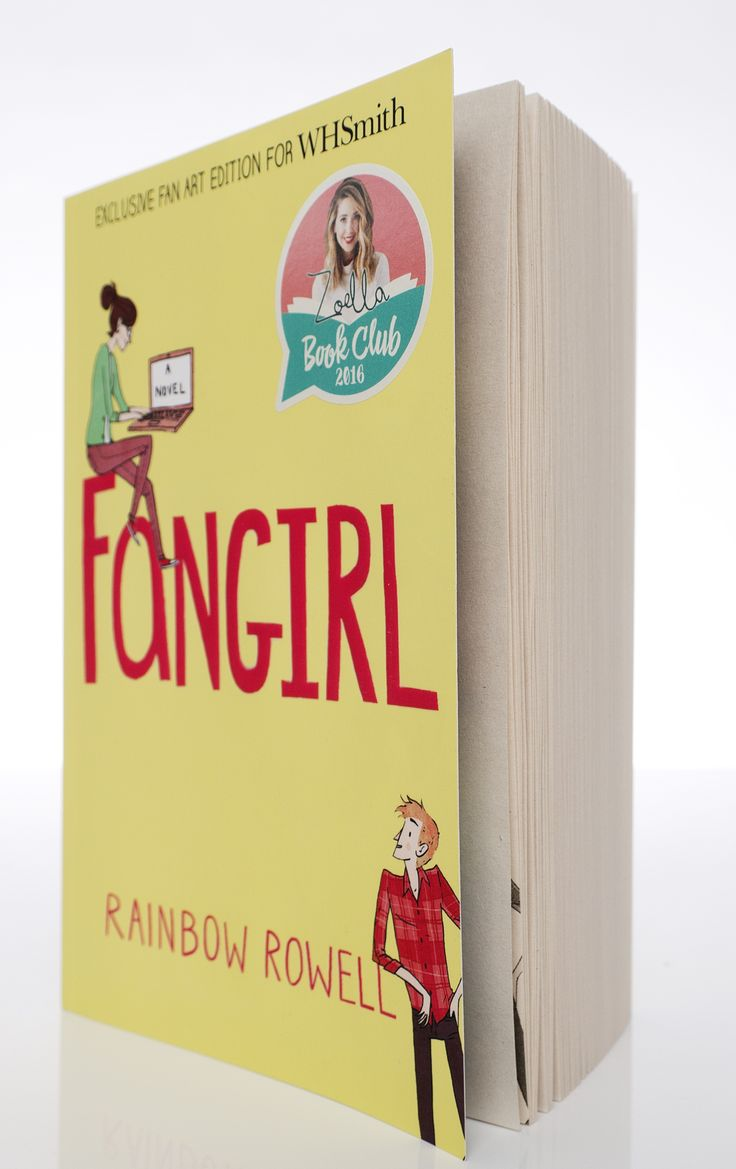 We love the Zoella Book Club WHSmith cover of Fangirl!