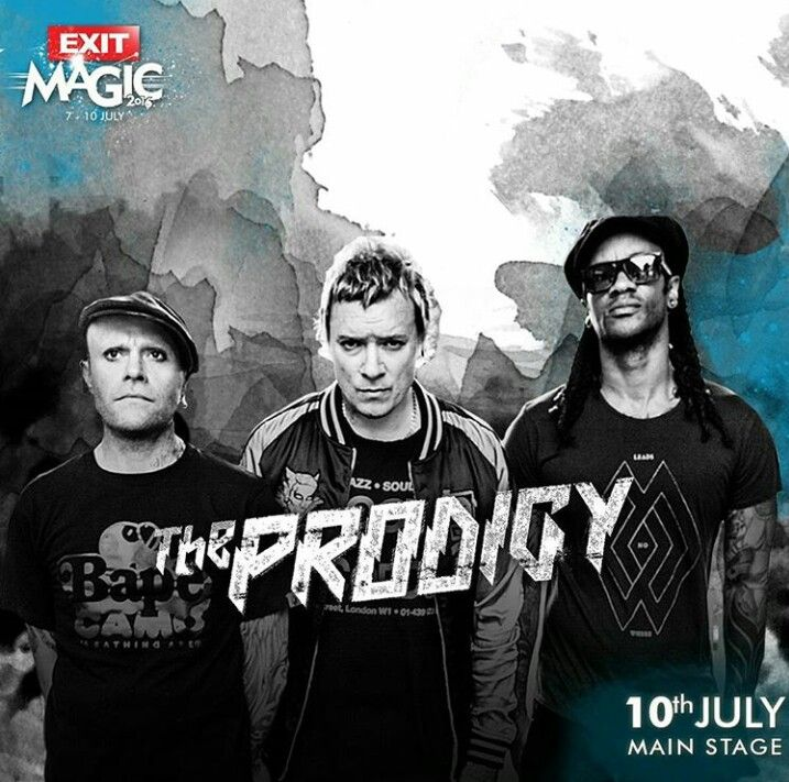 Influential electronic music pioneers #TheProdigy will play the main stage at this years #ExitFestival on 10th July