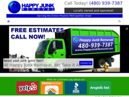 New listing in Garbage Removal added to CMac.ws. Happy Junk Removal in Tempe, AZ - http://garbage-removal-services.cmac.ws/happy-junk-removal/10587/