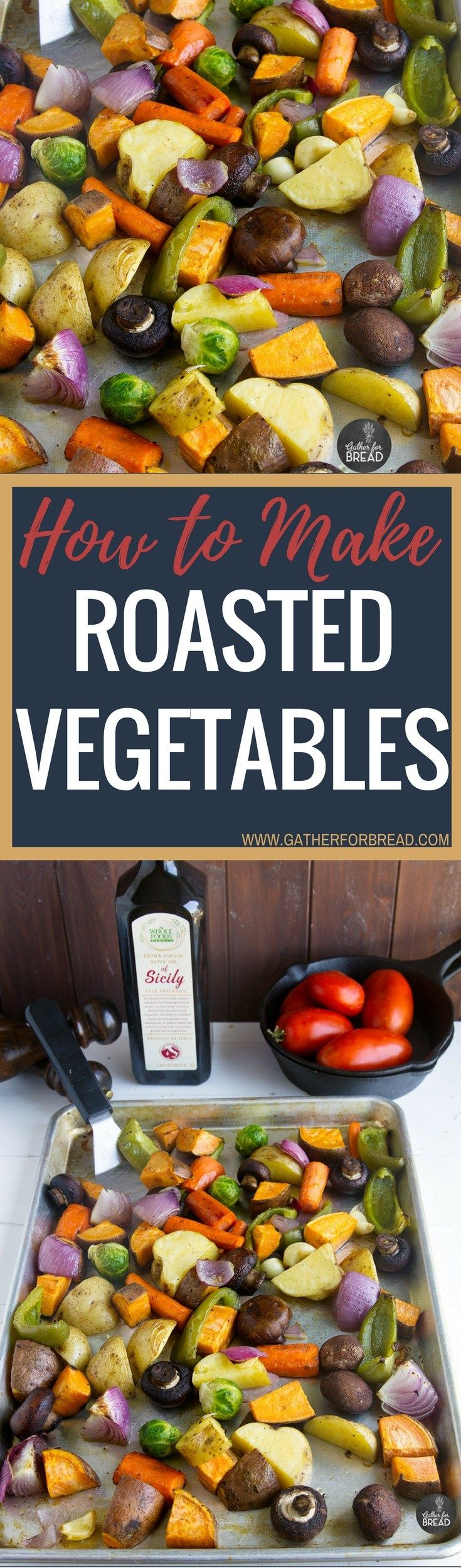 How To Make Roasted Vegetables – Easy recipe favorite for vegetables. Potatoes…   – Yummy Sidedishes