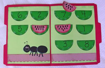 site with TONS of free and nifty file folder activities: includes activities that work on numbers/counting, letter recognition and sorting, color sorting/matching, color words, etc.