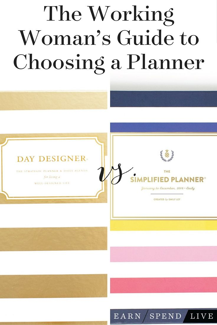 I embarked on a three-week long Day Designer vs. Emily Ley The Simplified Planner competition- and here's what I discovered...