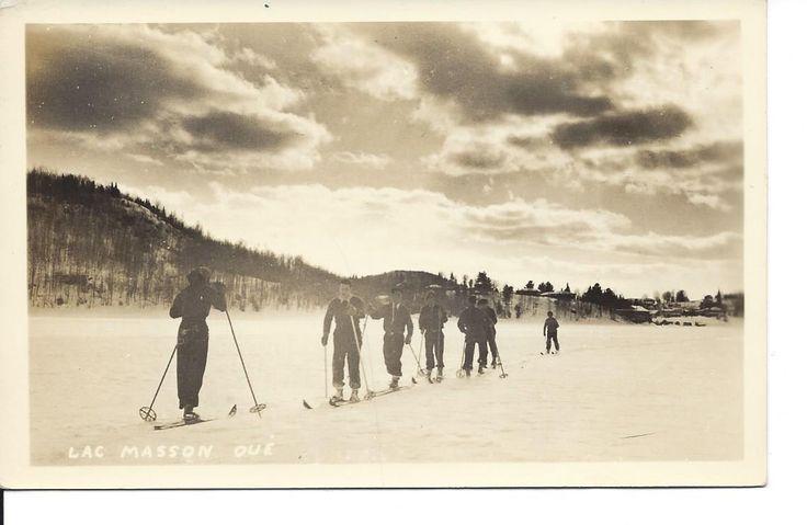 Ski sur le Lac-Masson