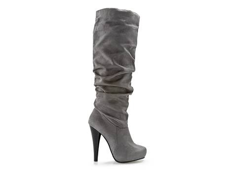 Grey boots DSW