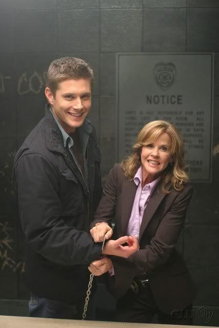 Jensen Ackles & Linda Blair
