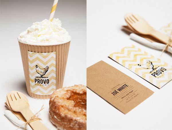 PROVO BAKERY by elyse taylor, via Behance