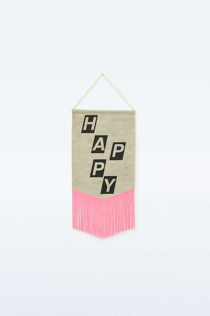Fanion Happy