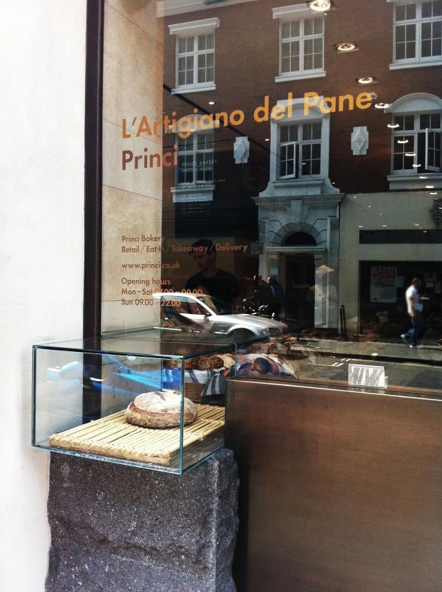 bakery princi | window idea