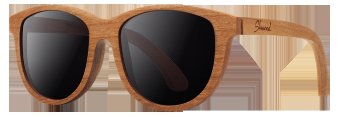 handcrafted wooden sunglasses based out  of a shop in Portland OR. yes please.