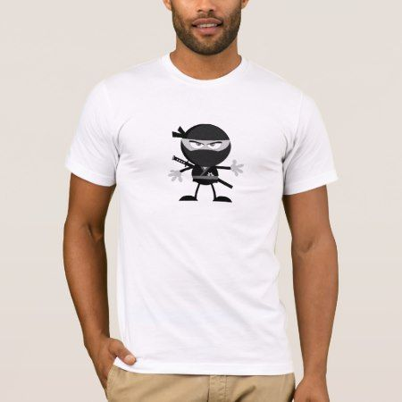Angry Ninja Warrior Mens T-Shirt - click to get yours right now!
