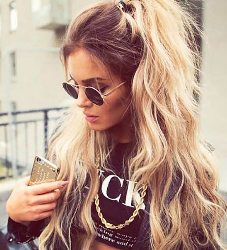17 Best Ideas About Half Ponytail On Pinterest Easy Long Hairstyles Casual Hairstyles And