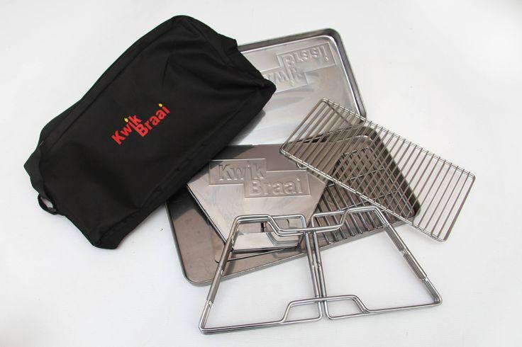 Kwik Braai – rust-resistent, portable braai