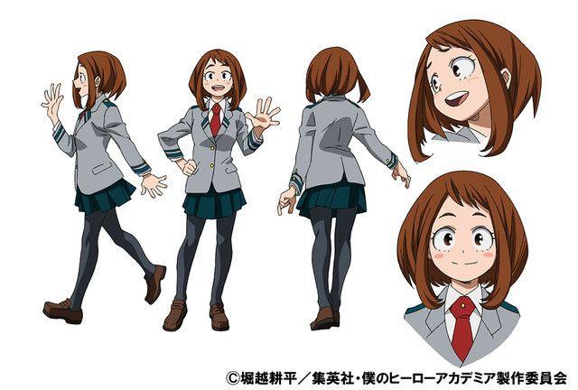 My Hero Academia Anime's Ochako, Tenya Character Designs Revealed - News - Anime News Network:UK