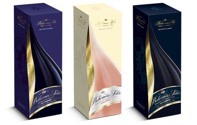 Bohemia Sekt Prestige on Packaging of the World - Creative Package Design Gallery