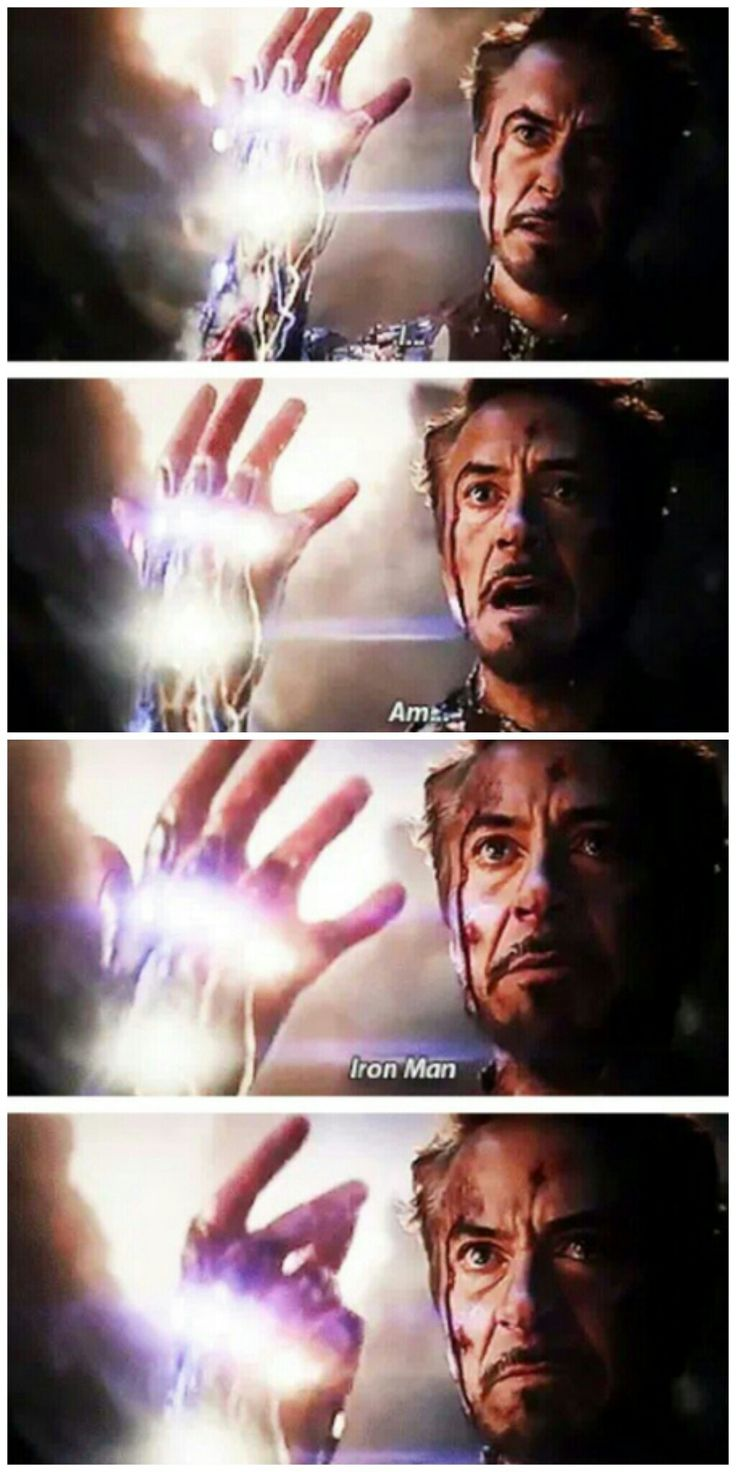 I Am Inevitable Tony Stark Iron Man Robert Downey Jr