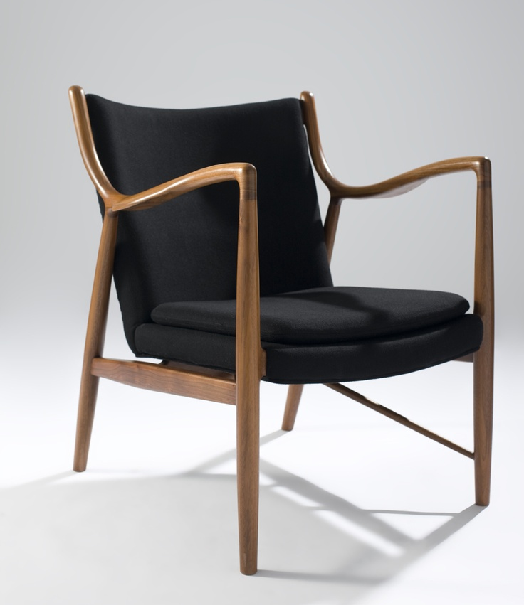 Mid-Century chair could also be mixed with Scandanavian modern furniture.