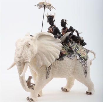 Ardmore Ceramics:  Elephant Rider